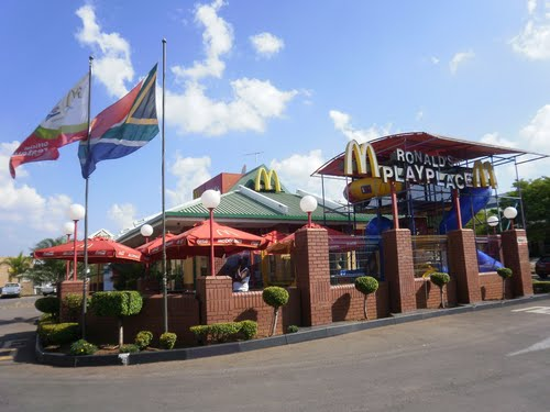 McDonald's in South Africa. Photo credit unknown.