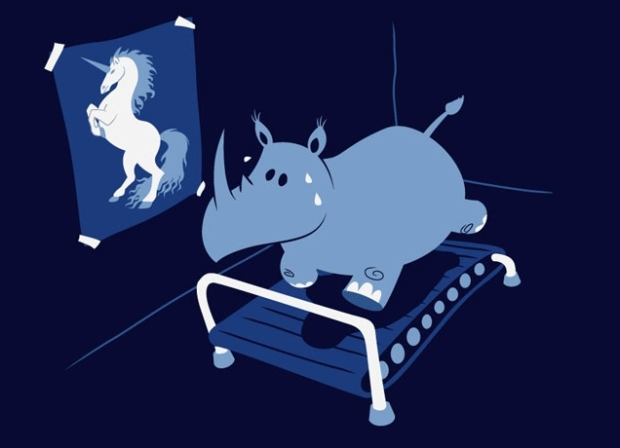 I love this little rhino! From now on, he shall be my Fitness Goals mascot and grace all these posts.