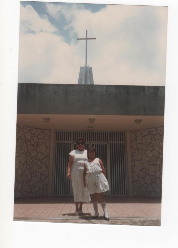 Mom and Me in Guaynabo. 1987