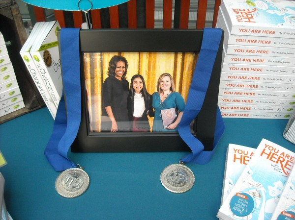After all, if WriteGirl is good enough for Michelle Obama (she presented WriteGirl with the 2013 National Arts and Humanities Youth Program Award), it should be good enough for you! :)