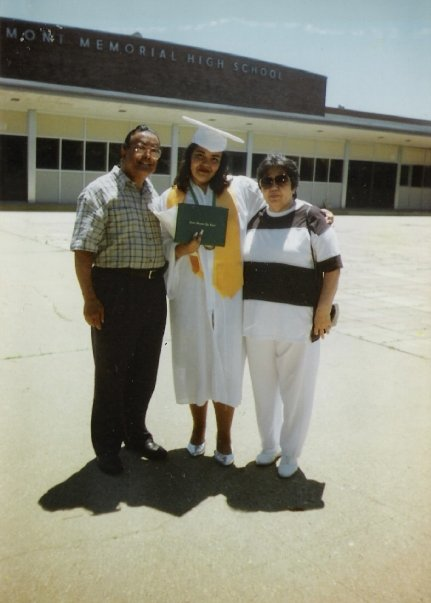 Dad, Me, and Mom