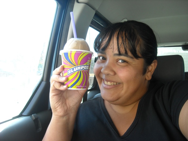 7-11 gives out free slurpees in honor of my birthday! How nice! ;)