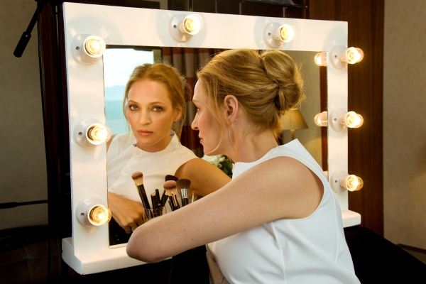 Uma Thurman stars in three short films by first-time filmmakers. Photo Courtesy of Jameson First Shot.