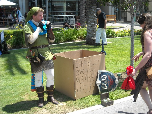Link doesn't need that loot.