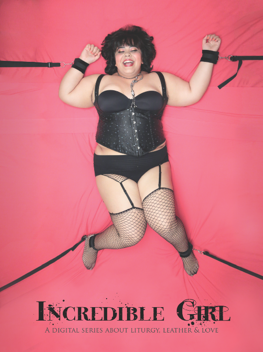 Cupcake Dominatrix character poster - featuring me!
